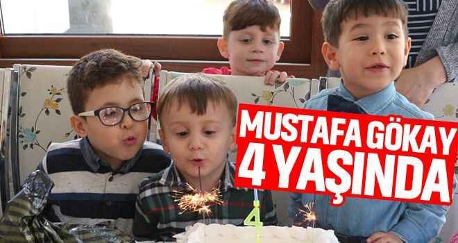Mustafa Gökay 4 yaşında