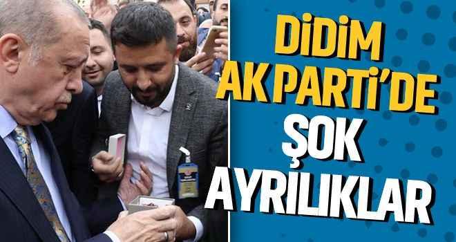 Didim AK Parti'de şok ayrılıklar