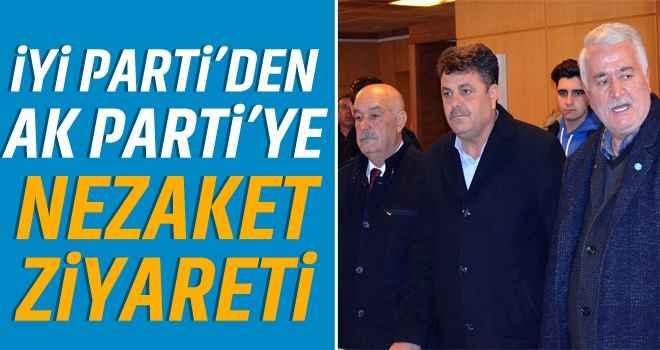 İYİ Parti'den AK Parti'ye nezaket ziyareti