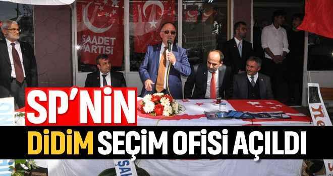 SP'nin Didim seçim ofisi açıldı