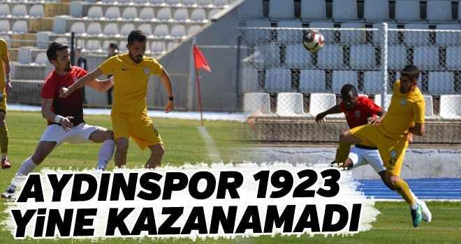 Aydınspor 1923 yine kazanamadı
