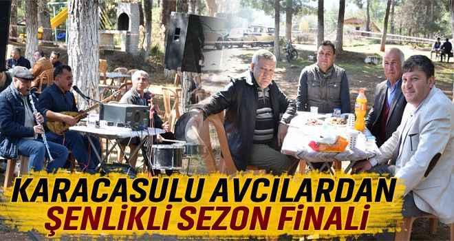 Karacasulu avcılardan şenlikli sezon finali