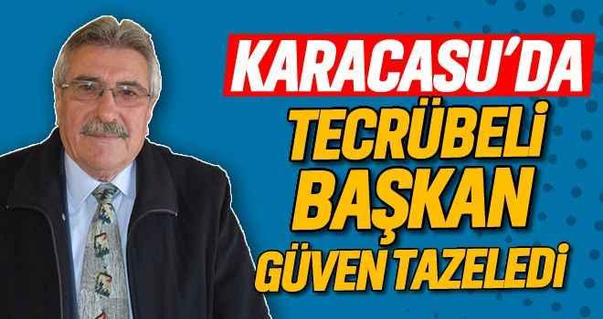 Karacasu'da tecrübeli başkan güven tazeledi