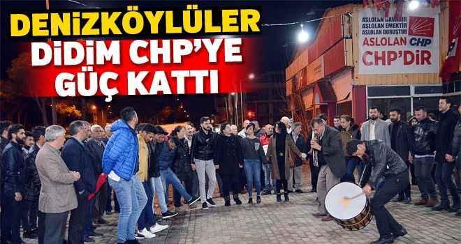 Denizköylüler Didim CHP'ye güç kattı