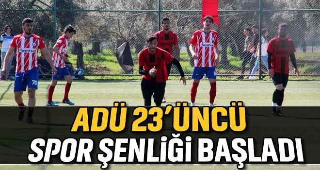 ADÜ 24'üncü Spor Şenliği başladı