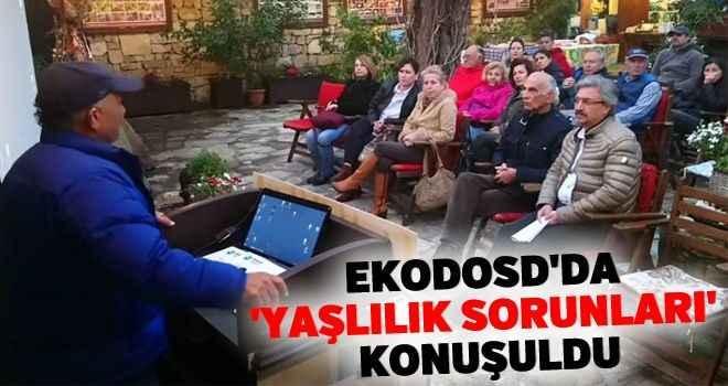 EKODOSD'da 'yaşlılık sorunları' konuşuldu