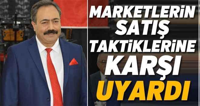 Marketlerin satış taktiklerine karşı uyardı