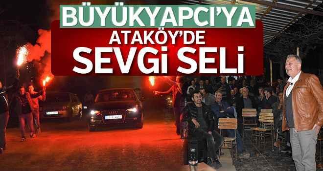 Büyükyapıcı'ya Ataköy'de sevgi seli