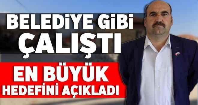 Karacasulu Muhtar, Belediye gibi çalıştı, en büyük hedefini açıkladı