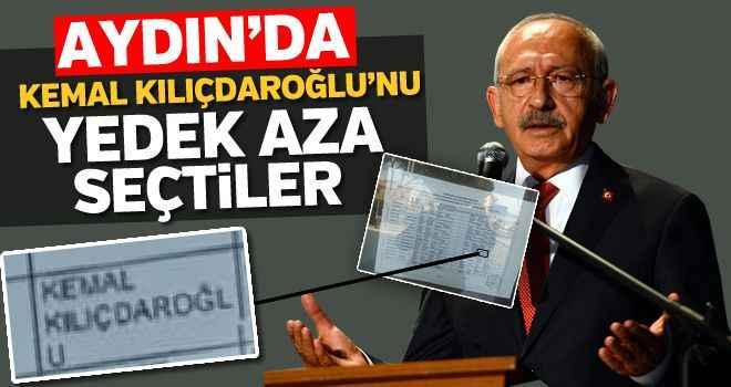 Kemal Kılıçdaroğlu'nu yedek aza seçtiler