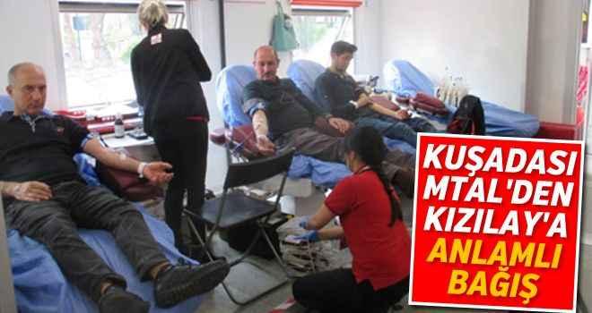 Kuşadası MTAL'den Kızılay'a anlamlı bağış