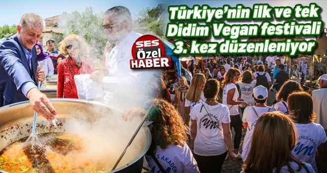 Türkiye'nin ilk ve tek Didim Vegan festivali 3. kez düzenleniyor
