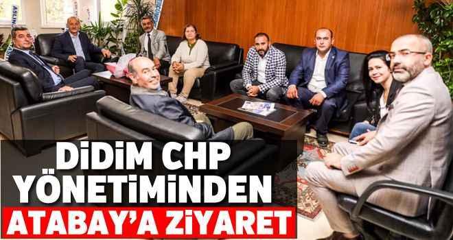 Didim CHP yönetiminden Atabay'a ziyaret