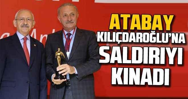 Atabay, Kılıçdaroğlu'na saldırıyı kınadı