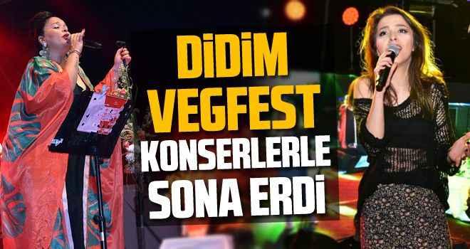 Didim VegFest konserlerle sona erdi