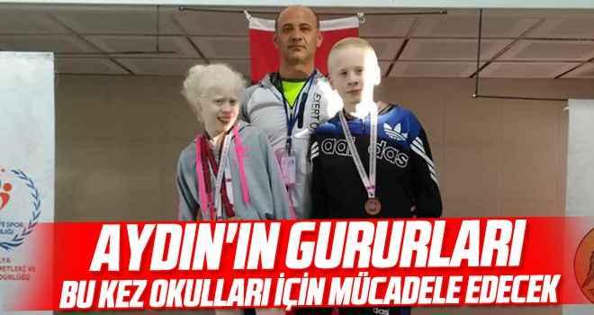Aydın'ın gururları bu kez okulları için mücadele edecek