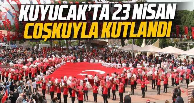 Kuyucak'ta 23 Nisan coşkuyla kutlandı