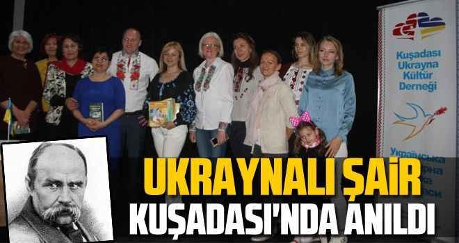 Ukraynalı şair Kuşadası'nda anıldı