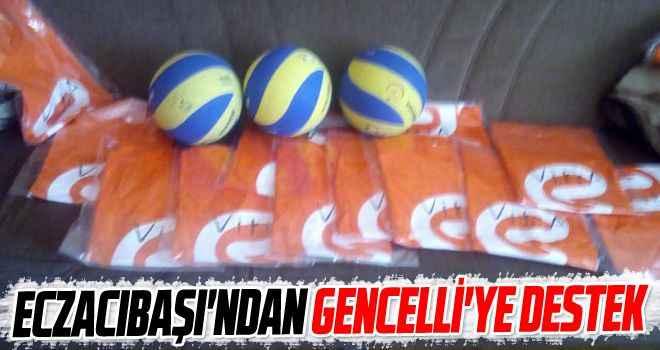 Eczacıbaşı'ndan Gencelli'ye destek