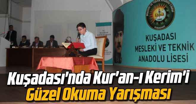 Kuşadası'nda Kur'an-ı Kerim'i Güzel Okuma Yarışması