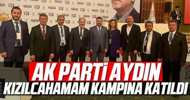 AK Parti Aydın, Kızılcahamam kampına katıldı