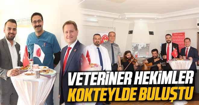 Aydın'da veteriner hekimleri kokteylde buluştu