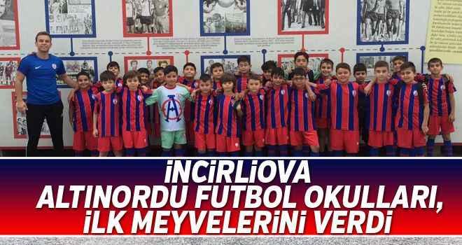 İncirliova Altınordu Futbol Okulları, ilk meyvelerini verdi