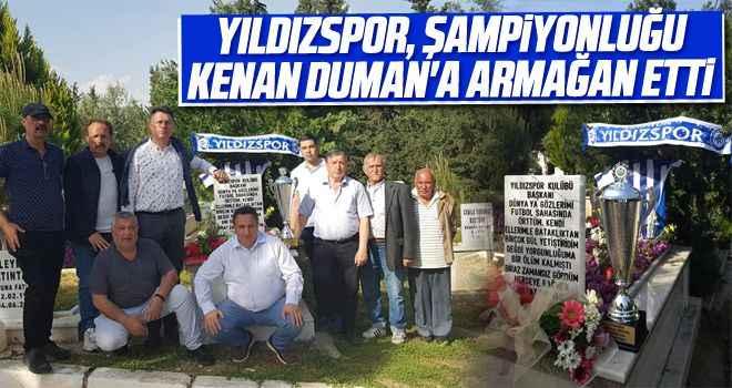 Yıldızspor, şampiyonluğu Kenan Duman'a armağan etti