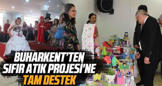 Buharkent'ten Sıfır Atık Projesi'ne tam destek