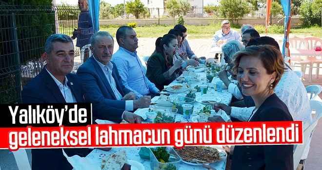 Yalıköy'de geleneksel lahmacun günü düzenlendi