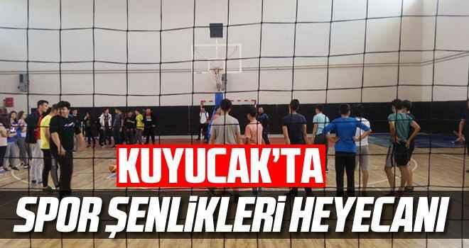 Kuyucak'ta Spor Şenlikleri heyecanı