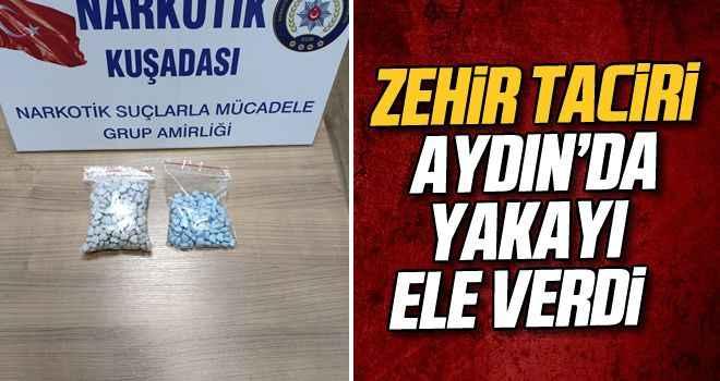 Kuşadası'na sokulmak istenen uyuşturucu polis engeline takıldı