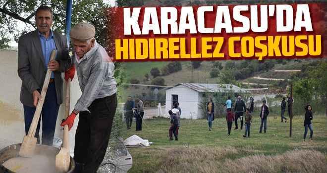 Karacasu'da hıdırellez coşkusu