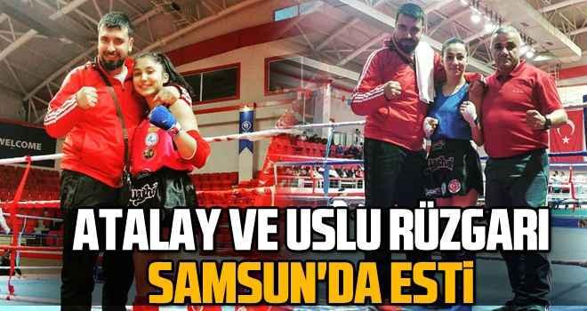 Atalay ve Uslu rüzgarı Samsun'da esti
