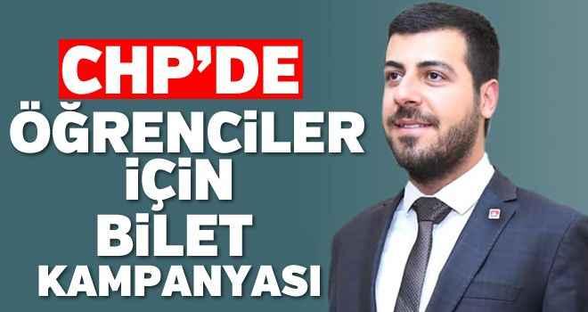 CHP'den öğrenciler için bilet kampanyası