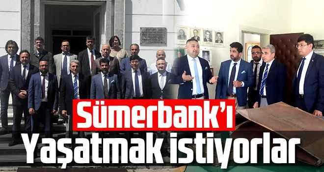 Sümerbank'ı yaşatmak istiyorlar