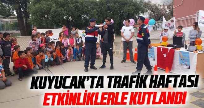 Kuyucak'ta Trafik Haftası etkinliklerle kutlandı