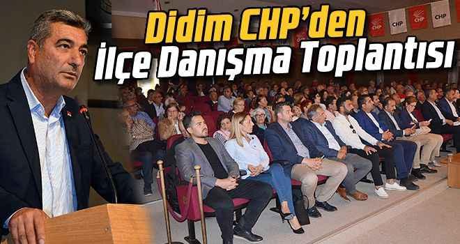 Didim CHP'den İlçe Danışma Toplantısı