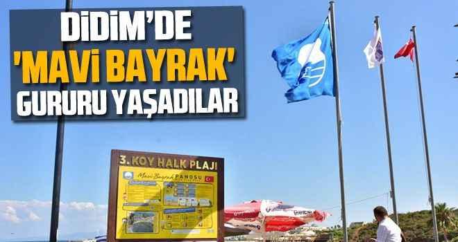 Didim'de 'mavi bayrak' gururu yaşadılar