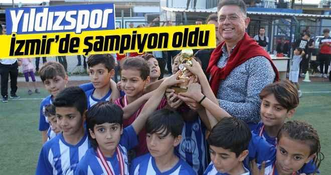 Yıldızspor, İzmir'de şampiyon oldu