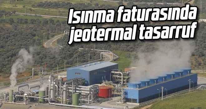 Isınma faturasında jeotermal tasarruf