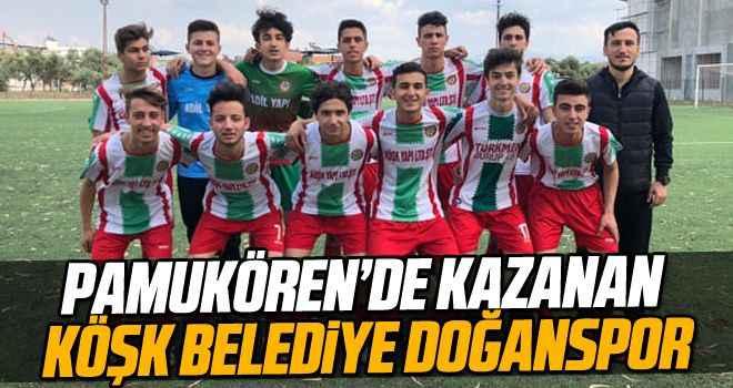 Pamukören'de kazanan Köşk Belediye Doğanspor