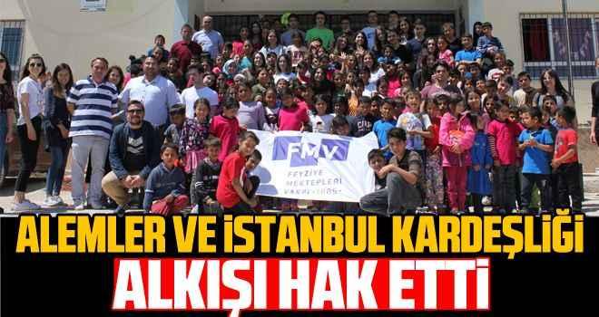 Alemler ve İstanbul kardeşliği alkışı hak etti