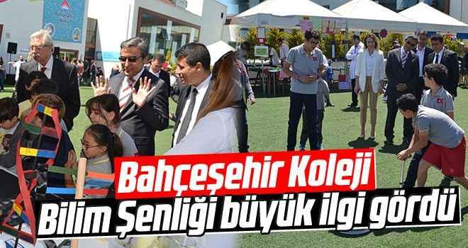 Bahçeşehir Koleji Bilim Şenliği büyük ilgi gördü