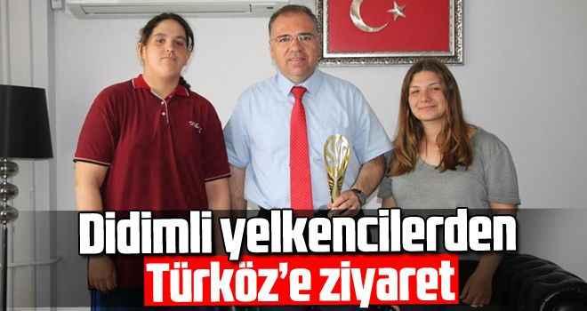 Didimli yelkencilerden Türköz'e ziyaret