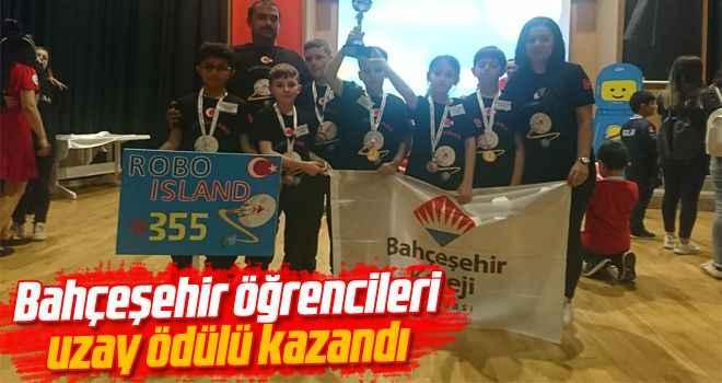 Bahçeşehir öğrencileri uzay ödülü kazandı