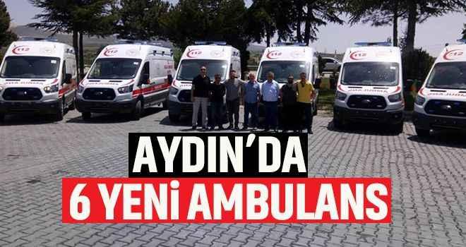 Aydın'a 6 yeni ambulans