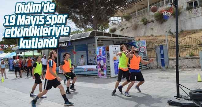 Didim'de 19 Mayıs spor etkinlikleriyle kutlandı