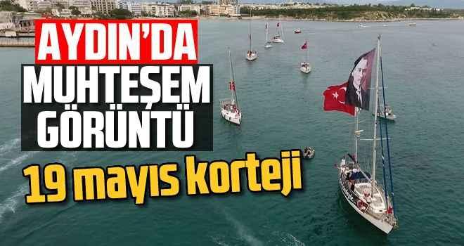 Aydın'da muhteşem görüntü