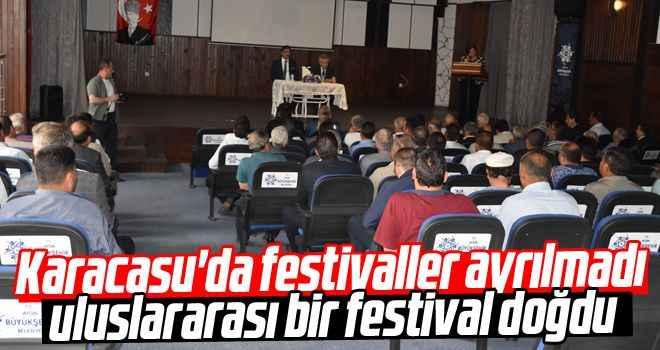 Karacasu'da festivaller ayrılmadı, uluslararası bir festival doğdu